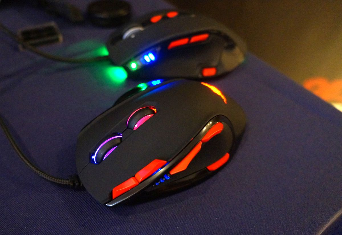 Patriot Defies God And Man Puts Two Scroll Wheels On Gaming Mouse Pc Gamer