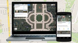 Google Maps offline sync