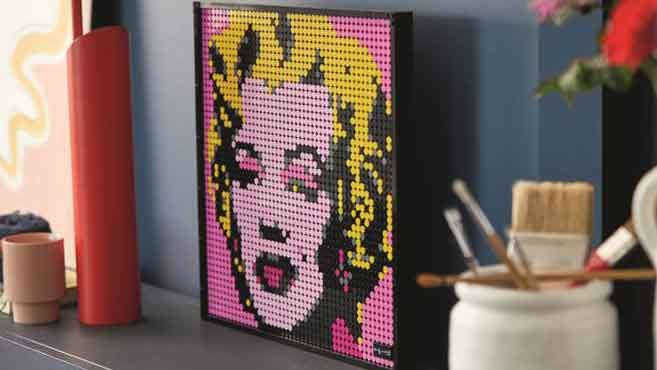 LEGO sale: Lego Art Marilyn Monroe