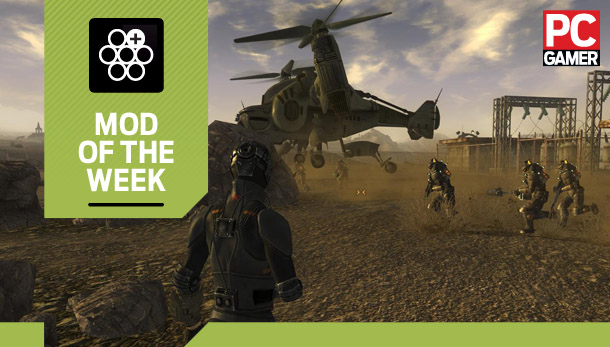 Mod of the Week: For the Enclave, for Fallout New Vegas | PC Gamer
