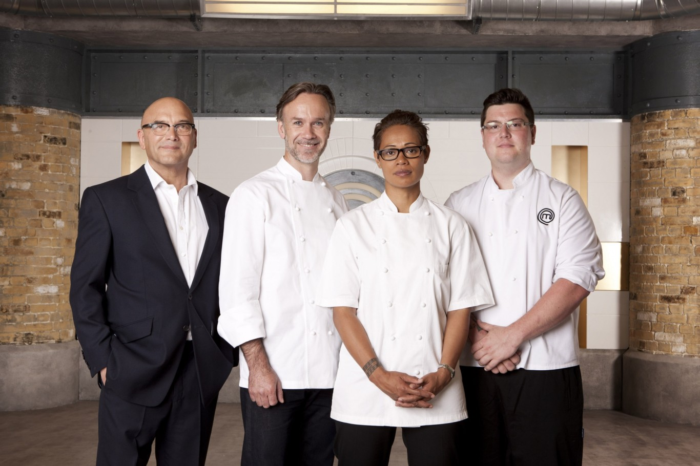 Masterchef judges and 2014 winner