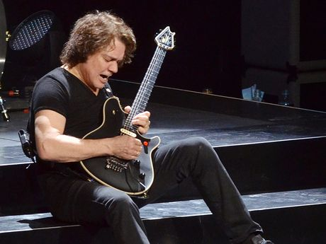 Eddie Van Halen On Drinking His Old Amp The New Record