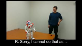 Robots are learning how to say no to humans
