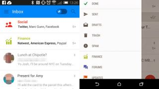 Gmail leaked screenshots
