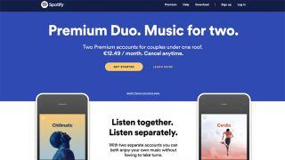 Spotify trials Premium Duo subscription for two