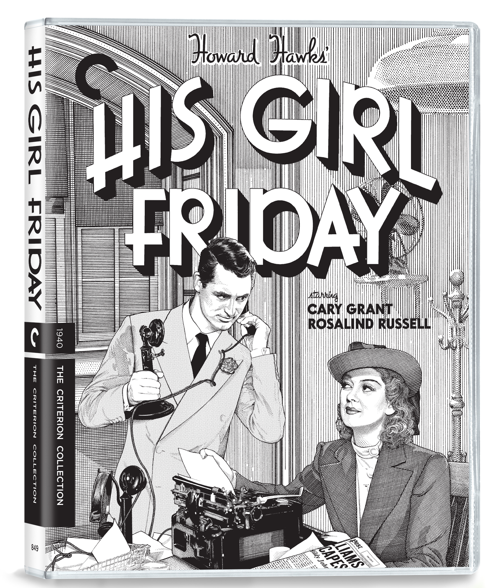 His Girl Friday Criterion Collection