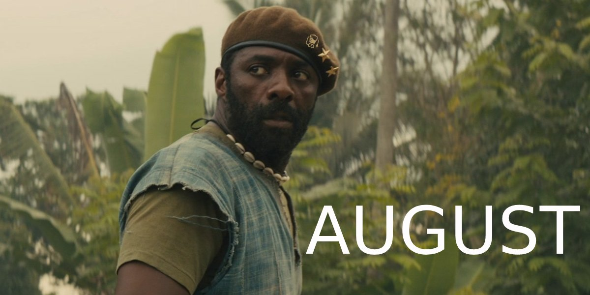 Beast star Idris Elba - August 2022