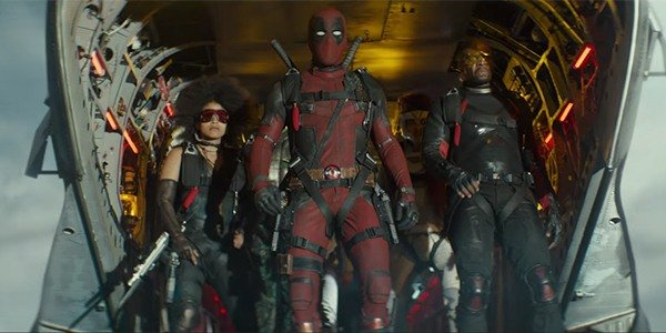 Deadpool with the X-Force in Deadpool 2