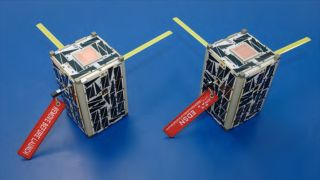 Nasa prepares to launch 'swarm' of tiny low-cost satellites