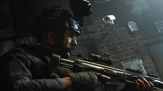 Best RAM-7 loadout - Captain Price aims a weapon in Call of Duty: Warzone.
