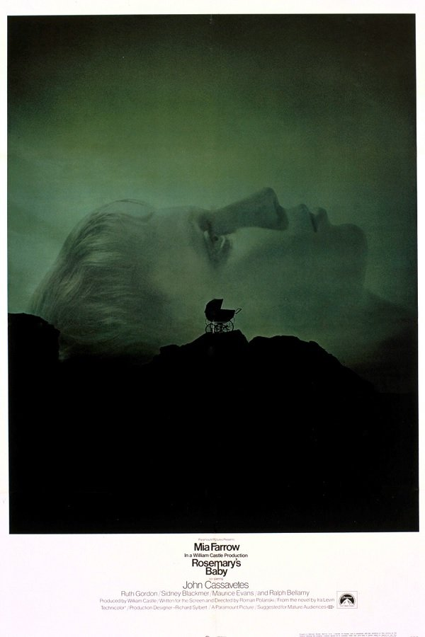 Rosemary's Baby theatrical poster