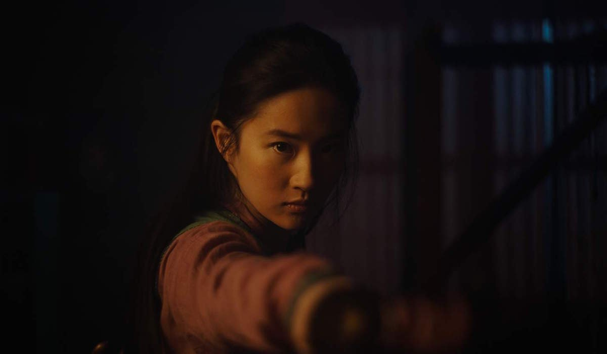 Liu Yufei as Mulan