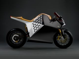 The world's fastest electric bike will have moved a thousandth of a centimetre between frames