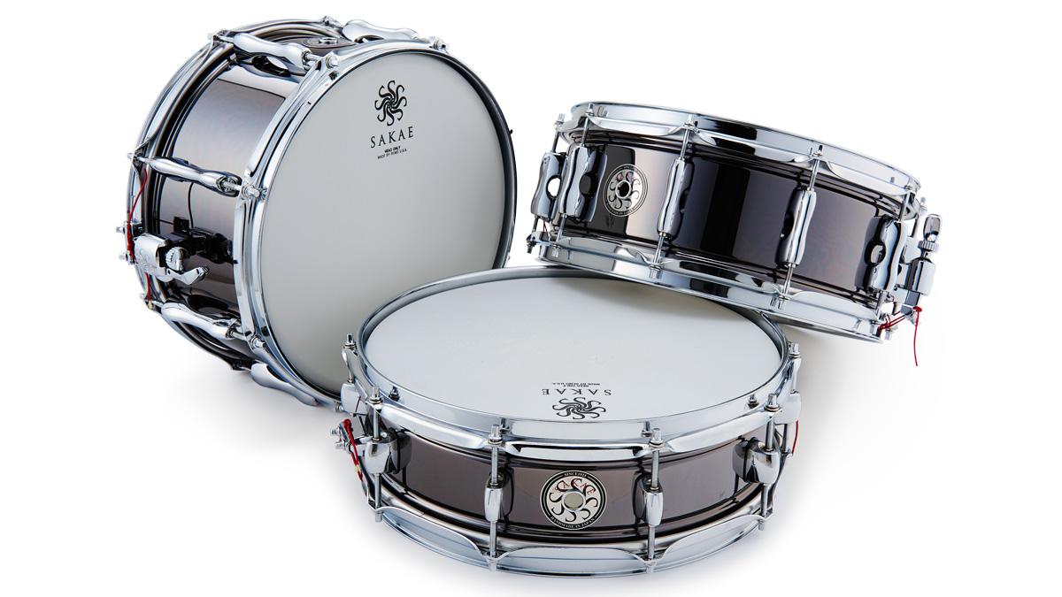Sakae Black On Brass Snare Drums review   MusicRadar