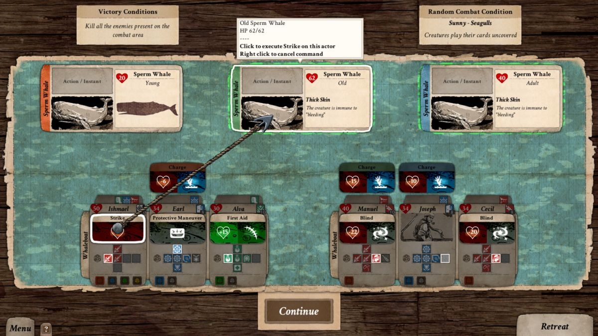 Chase Moby Dick in nautical strategy RPG Nantucket | PC Gamer