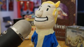 Vault boy PC Gamer Show