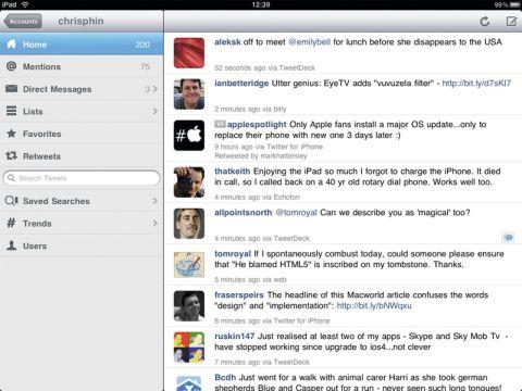 Echofon Pro (iPad)