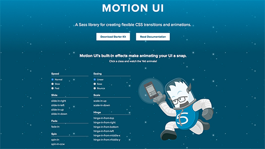 CSS animation frameworks