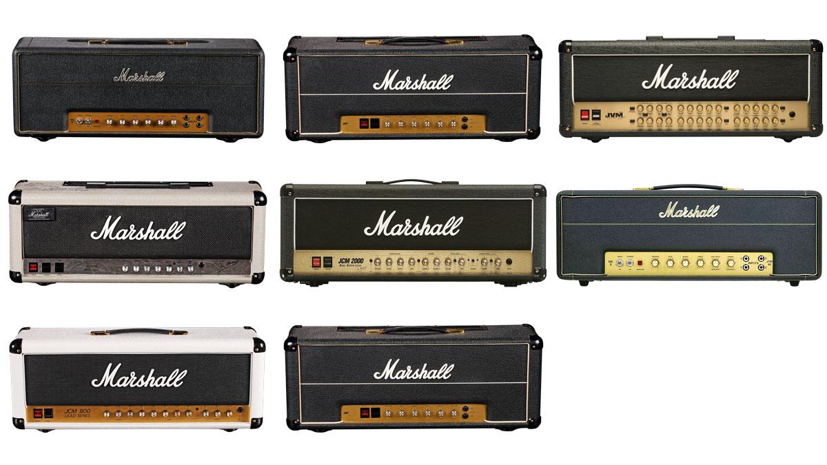 8 Milestone Marshall Amp Heads Musicradar The Birth Of An Amplifier