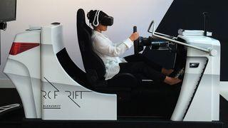 oculus rift Lexus RC F Rift