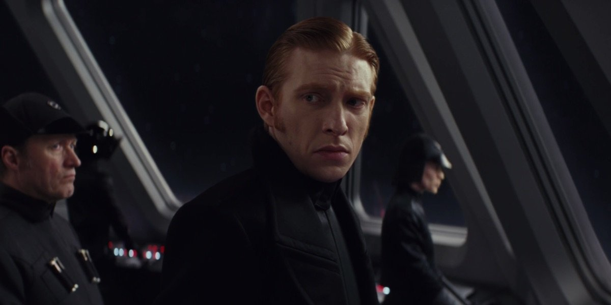 Hux in The Last Jedi