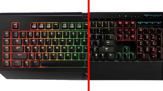 RGB Mechanical Keyboards: The Razer BlackWidow Chroma vs