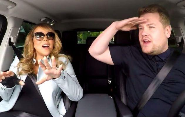 Carpool Karaoke, James Corden, Mariah Carey