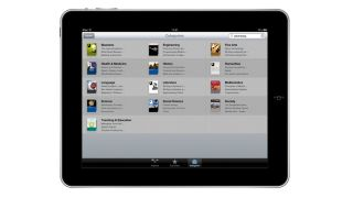 iTunes on iPad
