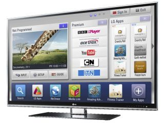 LG LW980T Smart TV