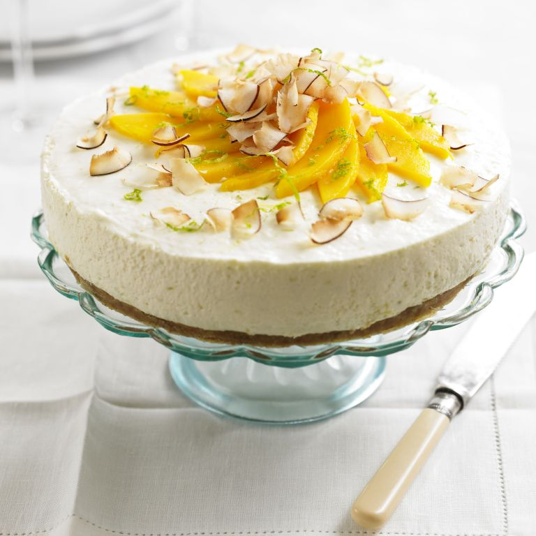 Lime Cheesecake recipe-Cheesecake recipes-recipe ideas-new recipes-woman and home
