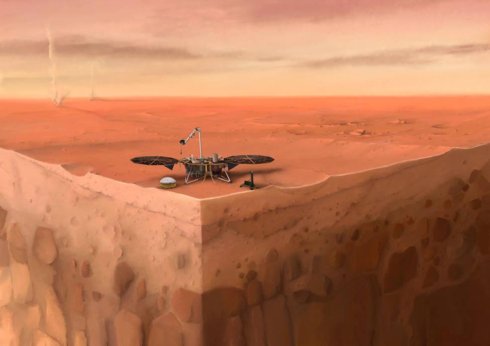 The 'mole' on Mars will dig no more, NASA says thumbnail