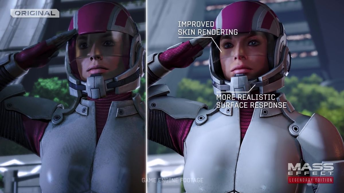 Mass Effect Legendary Edition used mods as a benchmark for its improvements