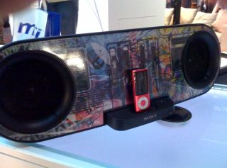 Sony shows off new iPod dock concept at The Gadget Show Live in Birmingham
