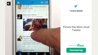 Twitter Vine more visual tweets