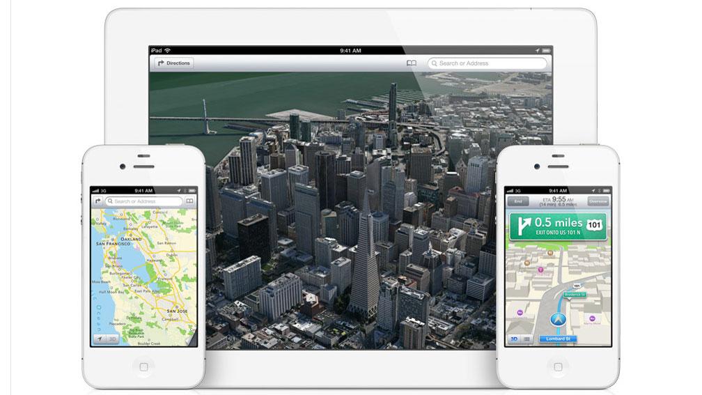 Apple Maps uses 80% less data than Google Maps | TechRadar on google channing tatum, google lg g3, google iphone 6, google android, google iphone 6s, google instagram, google smartphone, google iphone 5 cases speck, google nokia lumia 920, google iphone logo, google iphone 6c,
