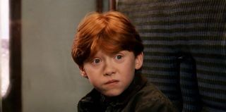 Rupert Grint as Ron Wesley in Harry Potter and the Sorcerer's Stone
