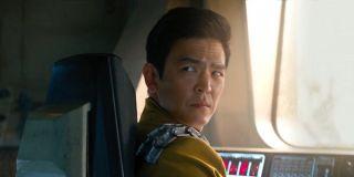 John Cho as Sulu in Star Trek Beyond