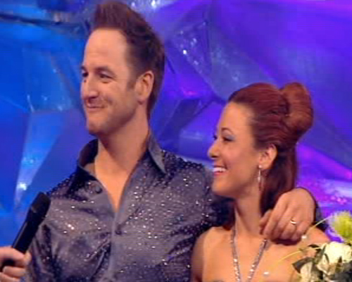 Dancing On Ice: Mikey is out!