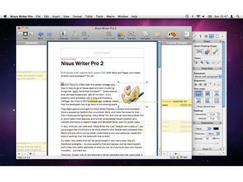 Nisus Writer Pro 2