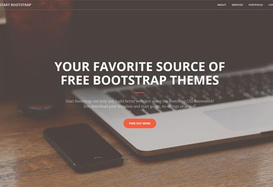 b9bf500de4cbbc0947d123fd7169400e 12 great free Bootstrap themes - SEO