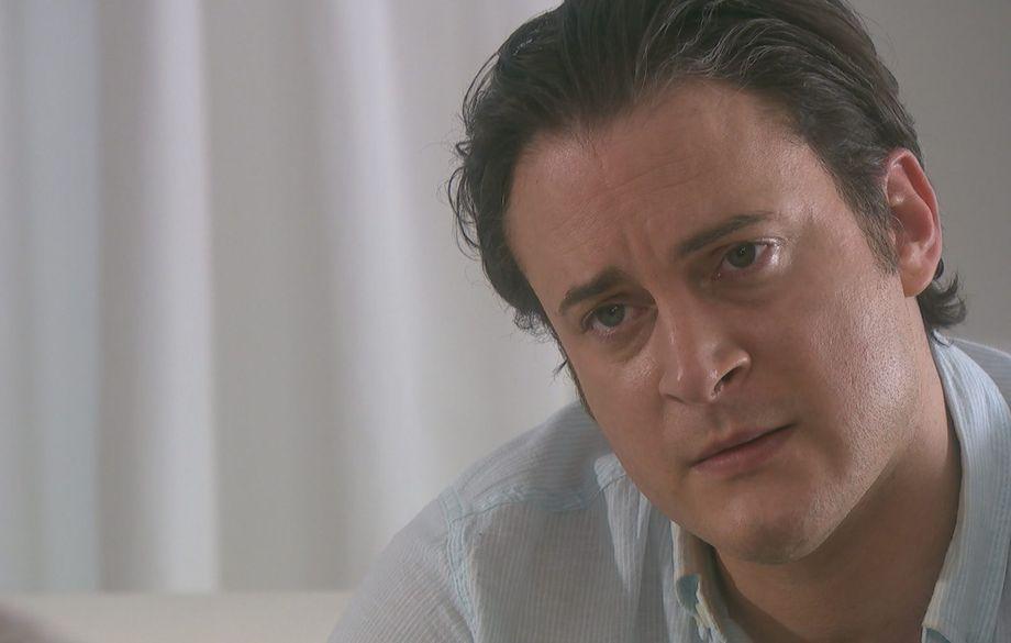 Luke Morgan with Cindy in Hollyoaks