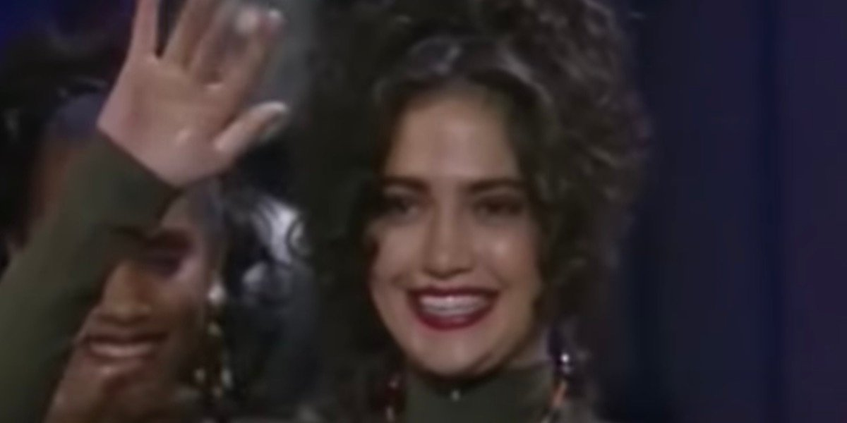 Jennifer Lopez as a Fly Girl in In Living Color