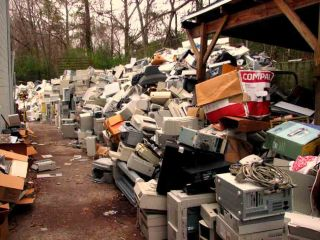 Only about 25 percent of e-waste is collected for recycling.