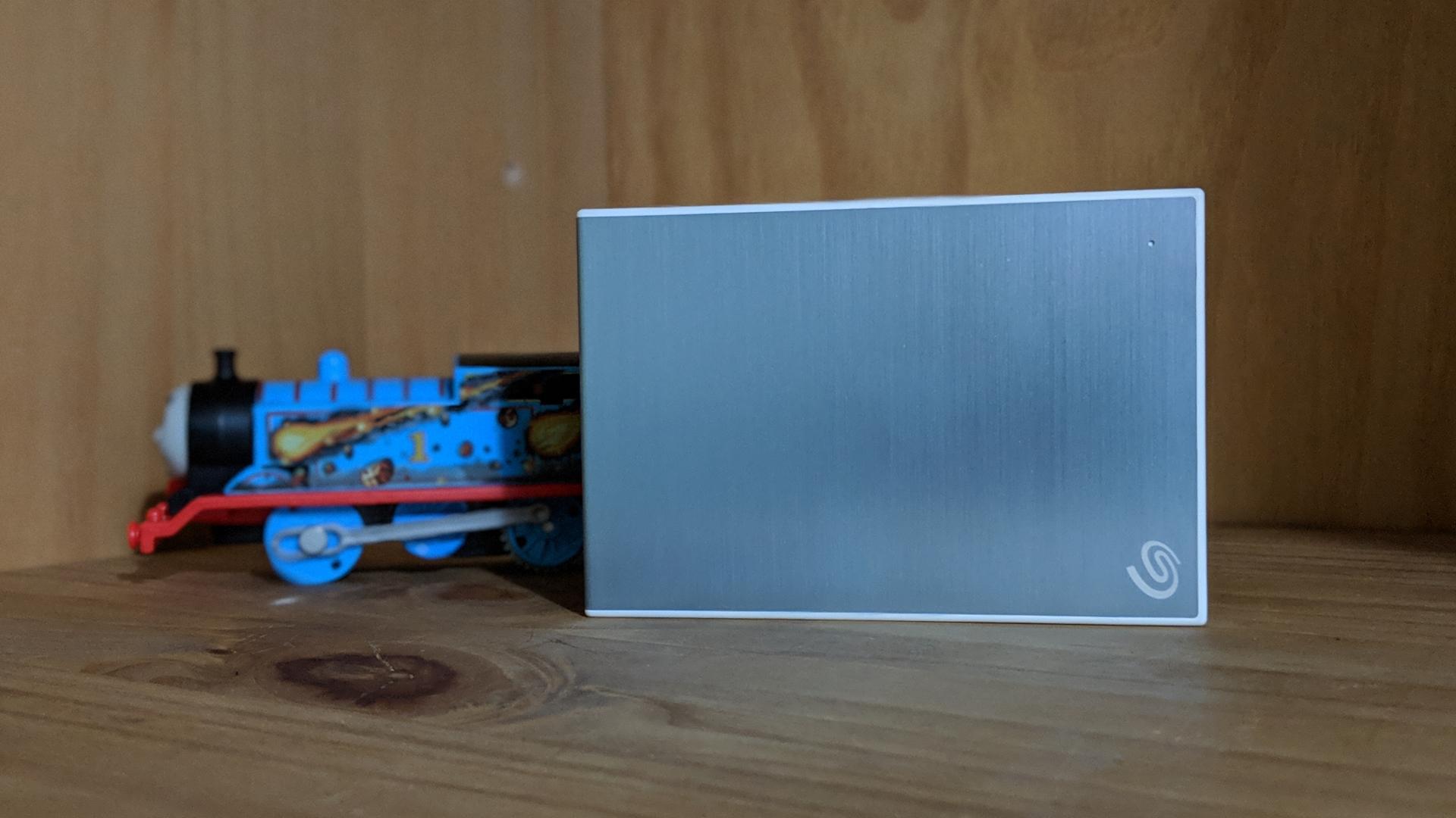 Seagate Backup Plus External Hard Drive Slim Portable 1 Terabyte USB 3.0 BLUE