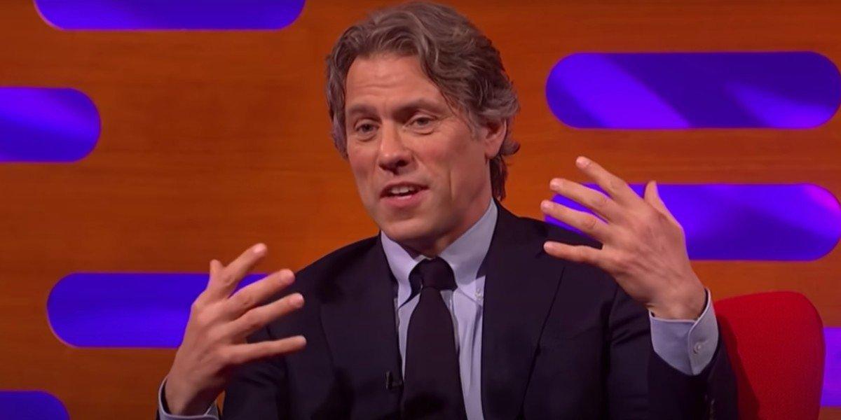 John Bishop talking on The Graham Norton Show