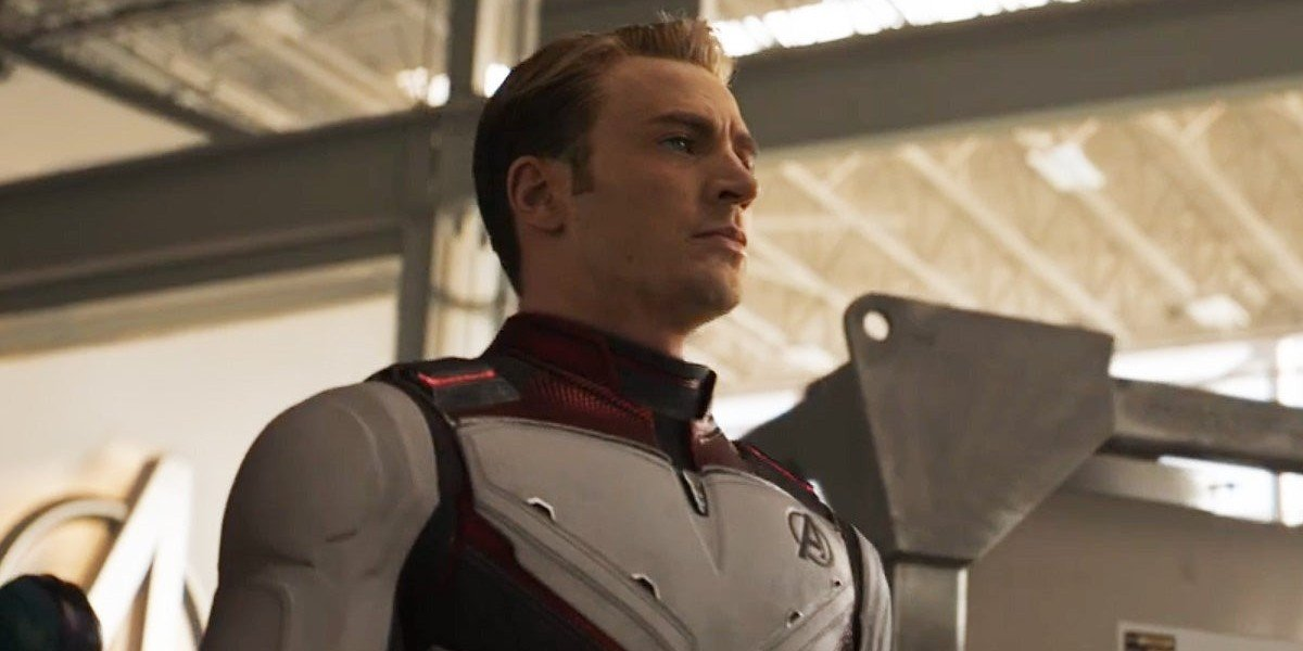Steve in his time-traveling suit in Avengers: Endgame.