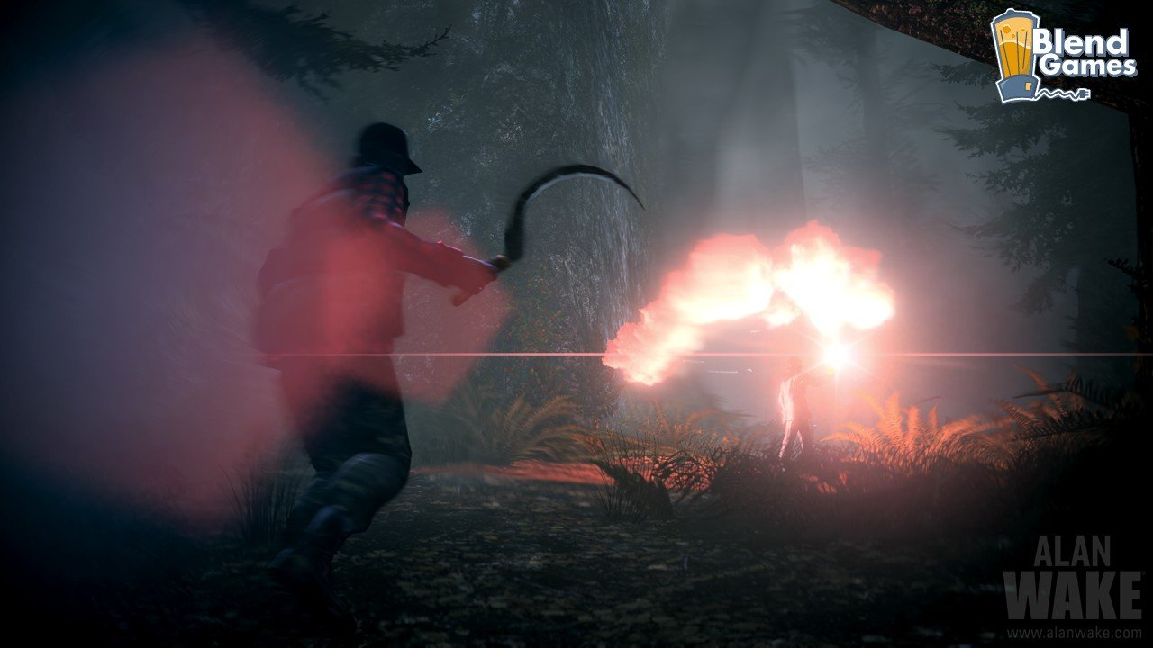 Alan Wake Screenshots Are All About The Flashlight #11192