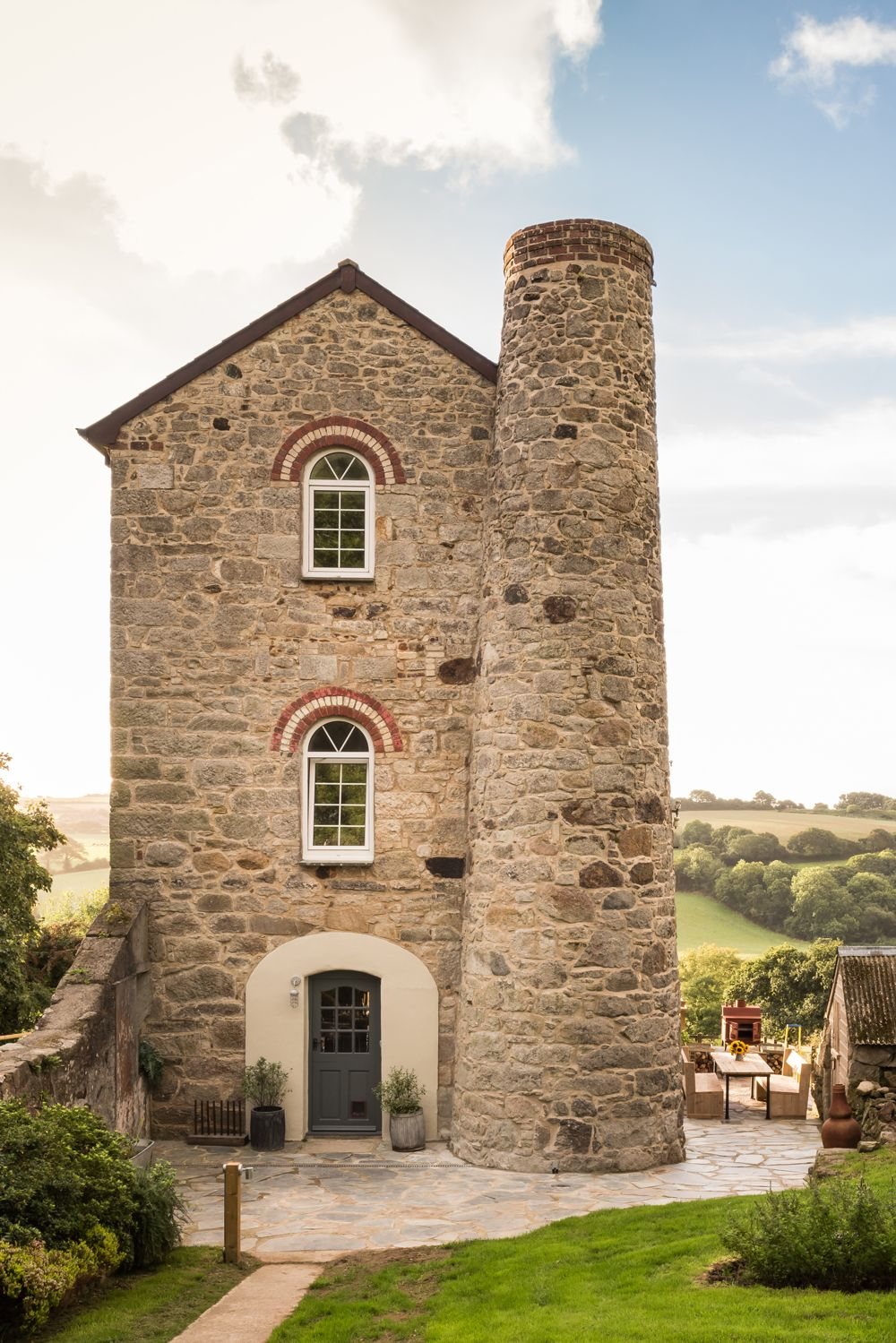 Explore a converted 19th century engine house in Cornwall