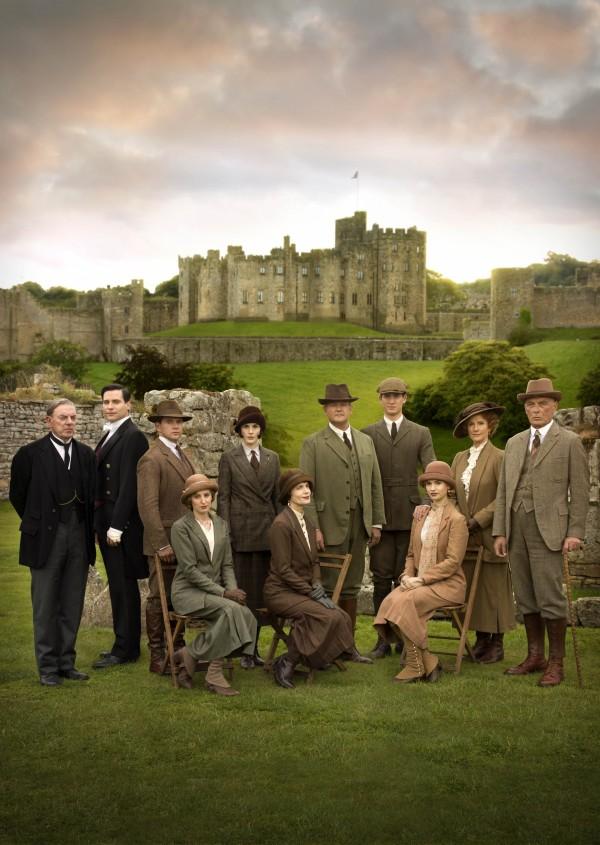 Downton Abbey Christmas cast shot