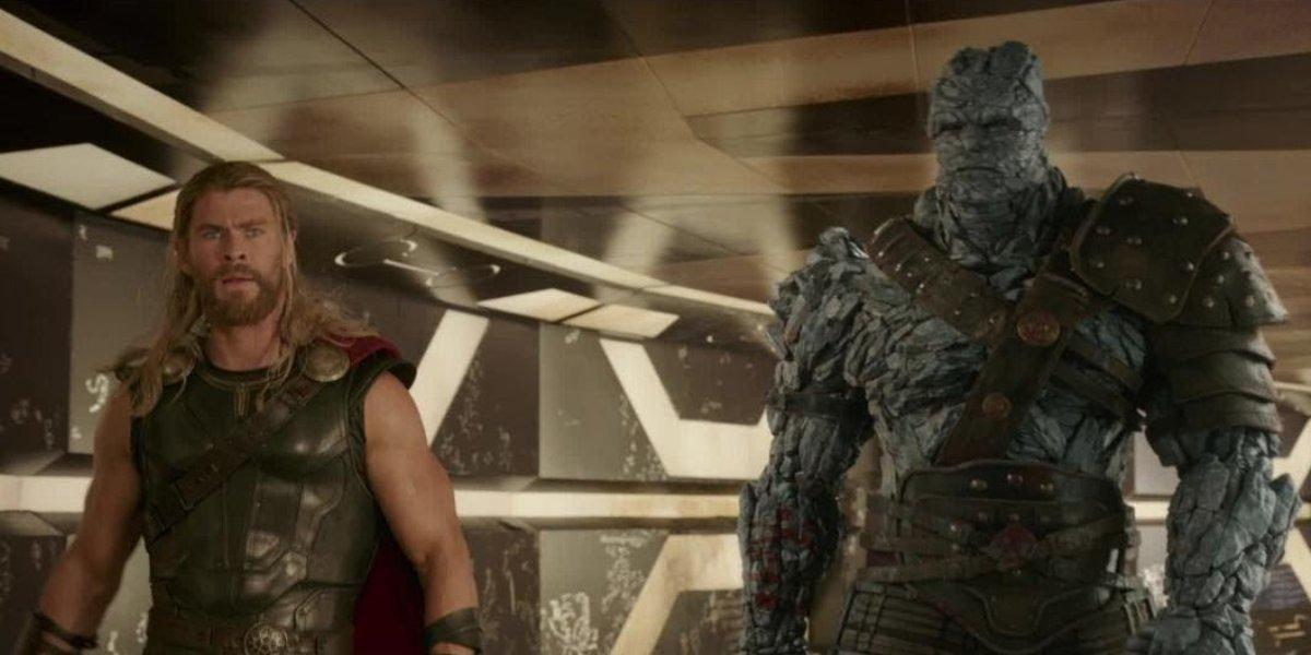 Thor: Love and Thunder stars Chris Hemsworth and Taika Waititi in Thor: Ragnarok
